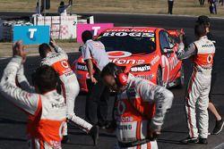 Race winnaar Jamie Whincup, Team Vodafone