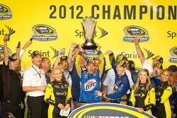 Championship victory lane: 2012 NASCAR Sprint Cup Series champion Brad Keselowski, Penske Racing Dod