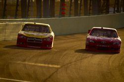Sam Hornish Jr., Penske Racing, Dodge; Joey Logano, Joe Gibbs Racing, Toyota