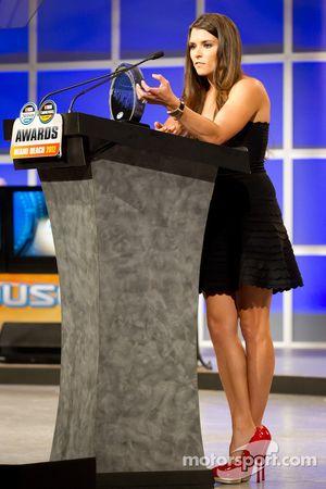 Serie Nationwide de NASCAR el piloto más popular Danica Patrick, JR Motorsports Chevrolet