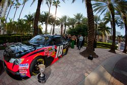 NASCAR Nationwide Series winnende wagen Joe Gibbs Racing Toyota