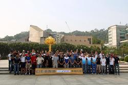 59th Macau Grand Prix promotional photo shoot