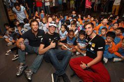 59ste Macau Grand Prix promo fotoshoot, Stefano D'aste, BMW 320 TC, Wiechers-Sport, Fernando Monje,