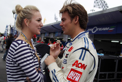 Tom Chilton, Ford Focus S2000 TC, Team Aon and his girlfriend