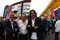 Marcello Lotti, WTCC General Manager and Stéphane Ratel, GT Promoter