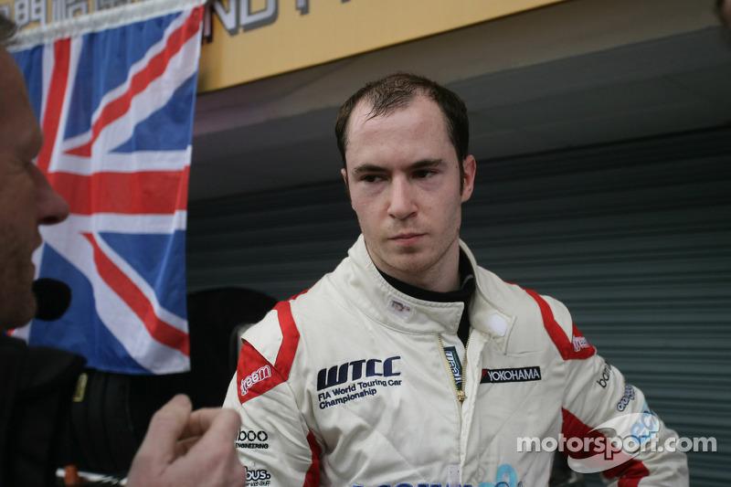 Алекс МакДауэлл. Макао, первая воскресная гонка.
