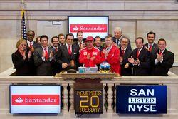 Fernando Alonso, Scuderia Ferrari, yeni York Stock Exchange