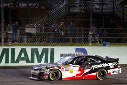 Race winnaar Regan Smith, JR Motorsports Chevrolet