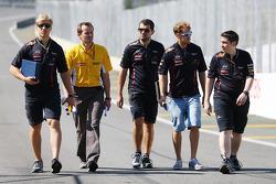 Sebastian Vettel, Red Bull Racing marche sur le circuit