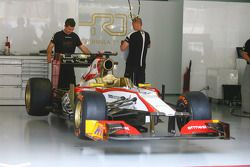Hispania Racing F1 Team, F112 of Pedro De La Rosa, HRT Formula 1 Team