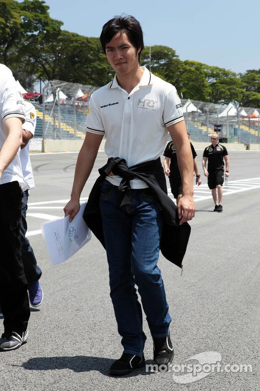 Ma Qing Hua, Hispania Racing F1 Team, testrijder op circuit