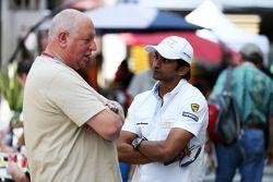 Dieter Rencken, Journalist met Narain Karthikeyan, Hispania Racing F1 Team