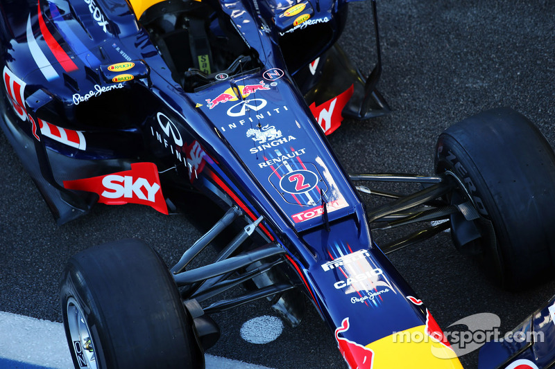Red Bull Racing RB8 of Mark Webber, Red Bull Racing