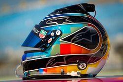 Helmet of Nelson A. Piquet, Turner Motorsports Chevrolet