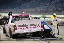Pit stop for Nelson A. Piquet, Turner Motorsports Chevrolet