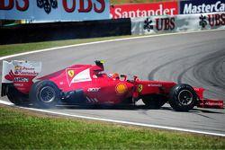 Felipe Massa, Ferrari spins
