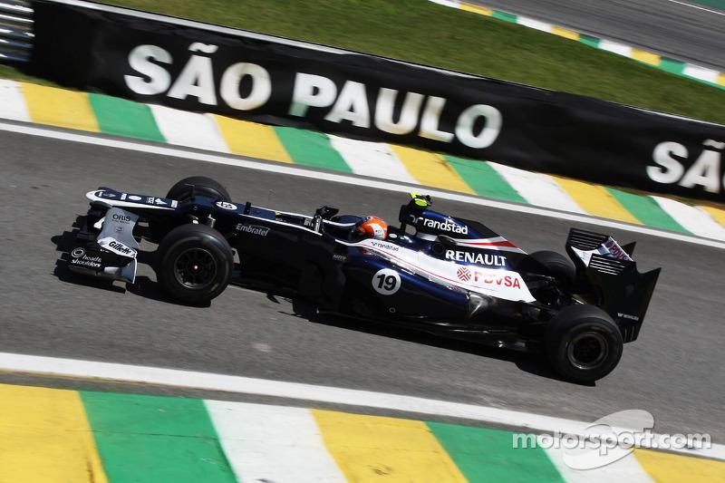 Bruno Senna - de 2010 a 2012 - 46 corridas