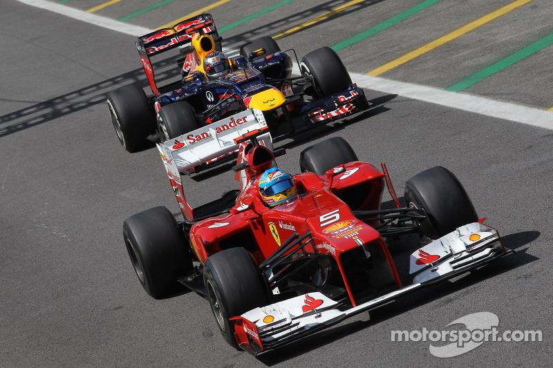 Сезон 2012 года проходил в Формуле 1 под знаком острейшего соперничества Фернандо Алонсо и Себастьяна Феттеля, Ferrari и Red Bull