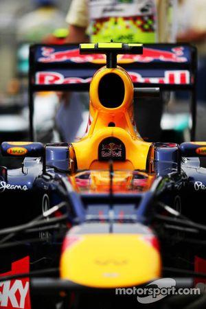 Red Bull Racing van Mark Webber, Red Bull Racing in parc ferme