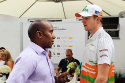 Anthony Hamilton, en Nico Hulkenberg, Sahara Force India F1