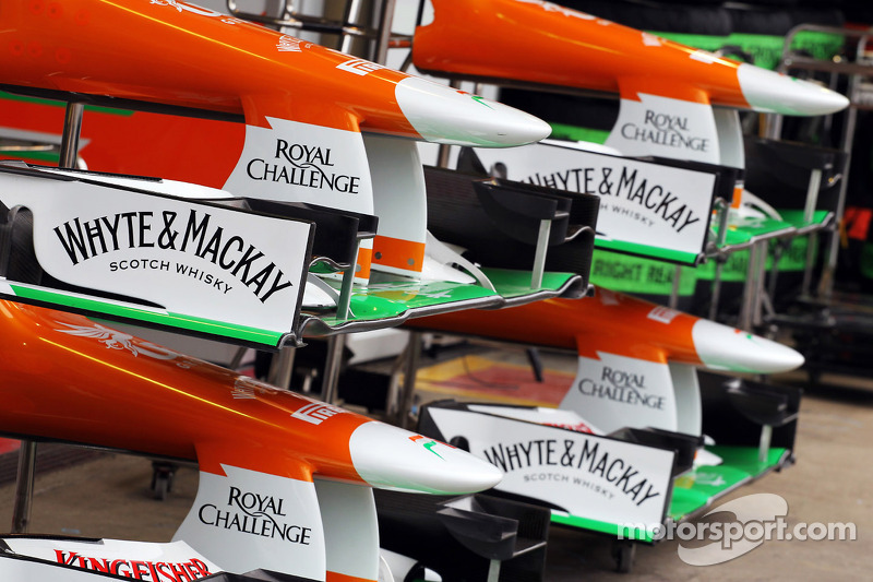 Sahara Force India F1 voorvleugels