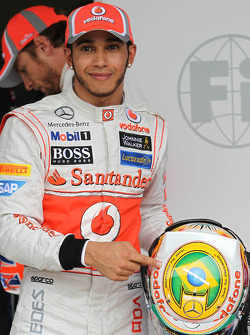 pole for Lewis Hamilton, McLaren Mercedes