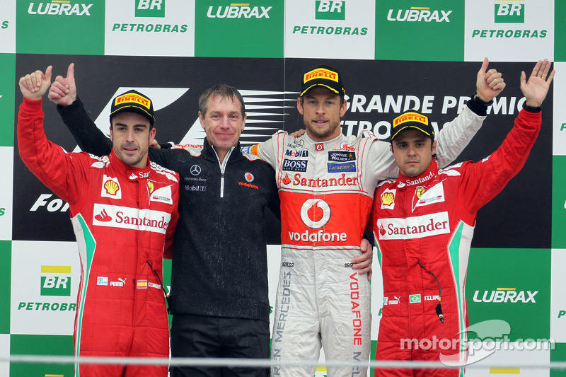 88- Fernando Alonso, 3º en el GP de Brasil 2012 con Ferrari