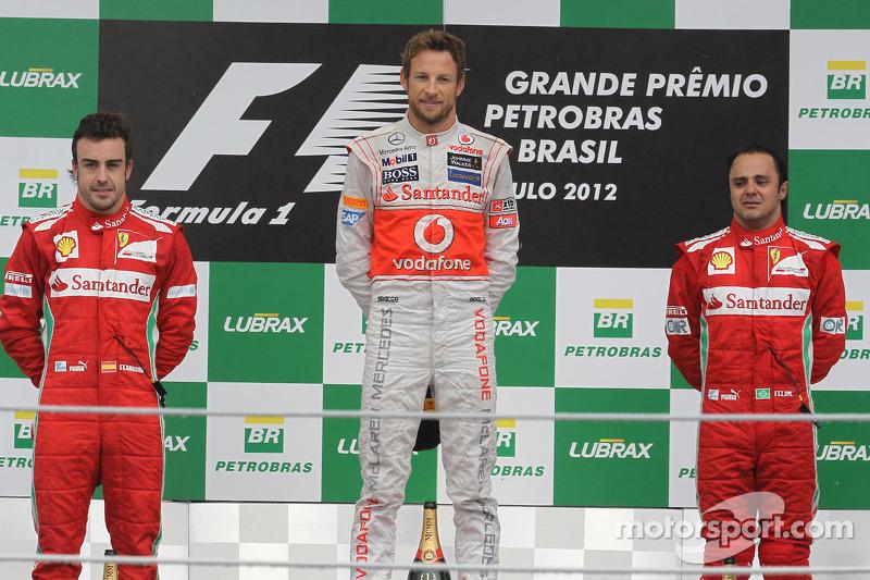En el Gran Premio de Brasil en 2012, Jenson Button le entregó a McLaren la que sigue siendo su más reciente victoria. El equipo de Woking, con 18 victorias, todas entre 2010 y 2012, es el cuarto con más triunfos en esta década.