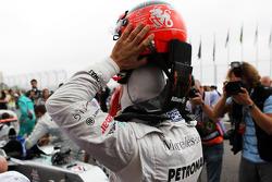 Michael Schumacher, Mercedes AMG F1 on the grid