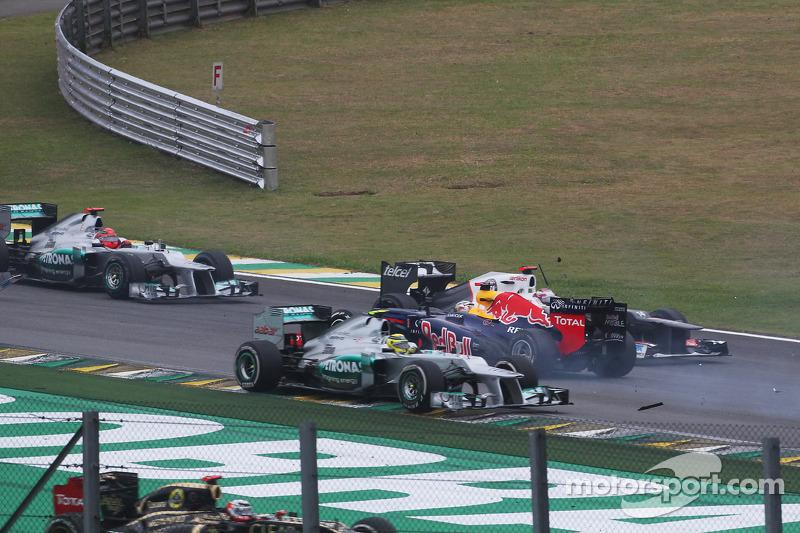 2012: Sebastian Vettel, tricampeón in extremis