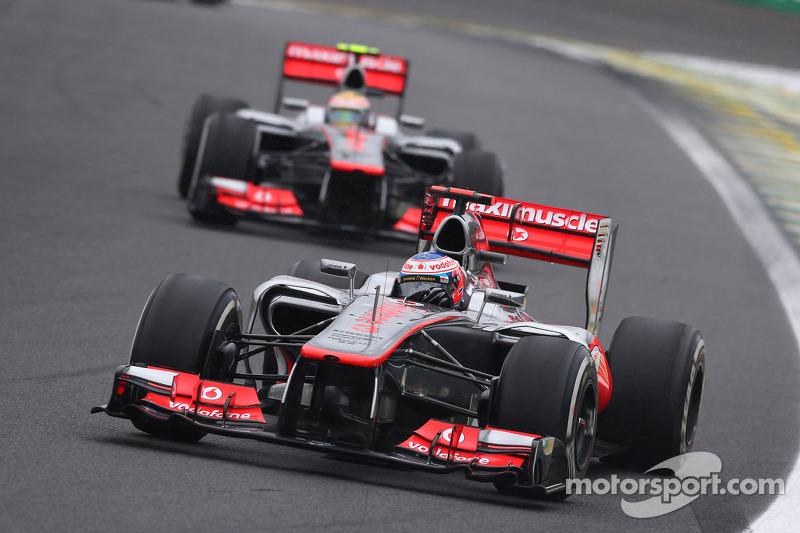 マクラーレンMP4-27・メルセデス(ジェンソン・バトン&ルイス・ハミルトン/2012年ブラジルGP)