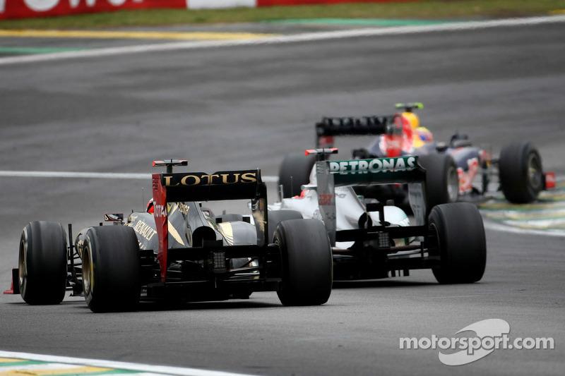 Kimi Raikkonen suit Michael Schumacher