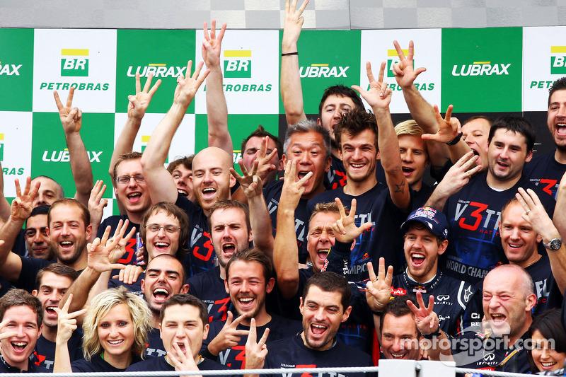 Sebastian Vettel, Red Bull Racing, campeón del mundo de F1 2012