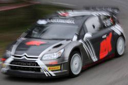Robert Kubica and Emanuele Inglesi, Citroën C4 WRC