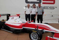 New 2013 GP3 car presentation