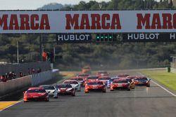 Start Coppa Shell race 1