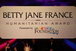 The Betty Jane France Humanitarian Award