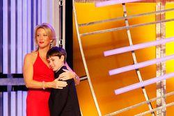 Lorri Shealy Unumb receives the Betty Jane France Humanitarian Award