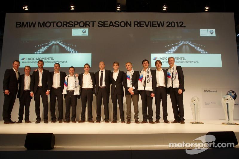 2013 BMW DTM rijders inclusief Marco Wittmann