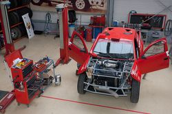 Preparations continue on the Nissan