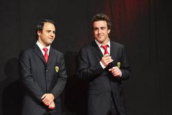Фелипе Масса и Фернандо Алонсо на Ferrari Gala