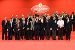 Ferrari dignitaries at the Ferrari Gala