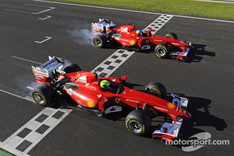 2011 - 2012: Ferrari