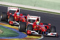 Фелипе Масса и Фернандо Алонсо, Scuderia Ferrari