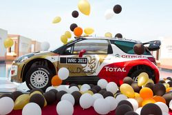 Презентация Citroën Total Abu Dhabi World Rally Team, презентация.
