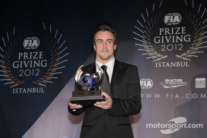 Фернандо Алонсо. Церемония награждения FIA, Стамбул, Турция, Особое мероприятие.