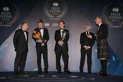 FIA Formula One World Championship - Sebastian Vettel - Christian Horner - Jean Todt - David Coultha