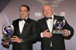 Андреас Шульц и Халифа Аль-Мутавей. Церемония награждения FIA, Стамбул, Турция, Особое мероприятие.