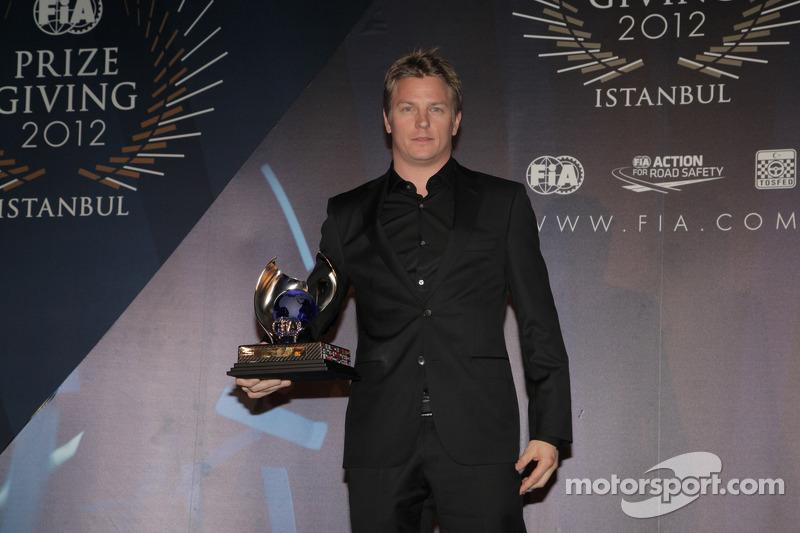 FIA Чемпіонат Формули 1 - Кімі Райкконен - третє місце в заліку