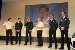 Jari-Matti Latvala, Miikka Anttila, Sébastien Ogier et Julien Ingrassia